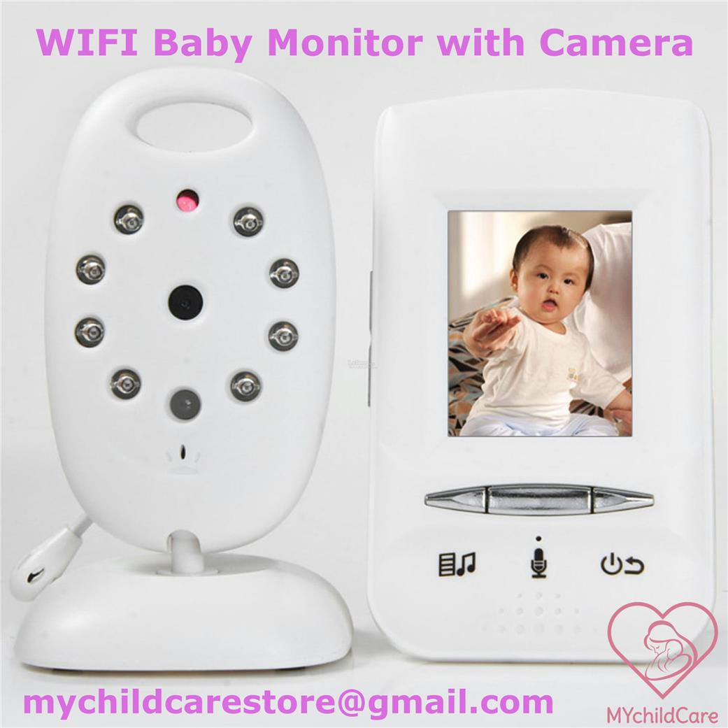 DIGITAL BABY MONITOR VIDEO CAMERA WIRELESS NIGHT VISION TEMPERATURE