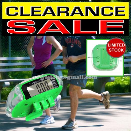 Digital LCD Pedometer Calories Walking Step Distance Calculation Count