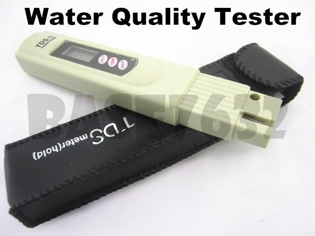 Digital TDS PPM  Water Quality Purity Tester Pen Meter + Leather Cover