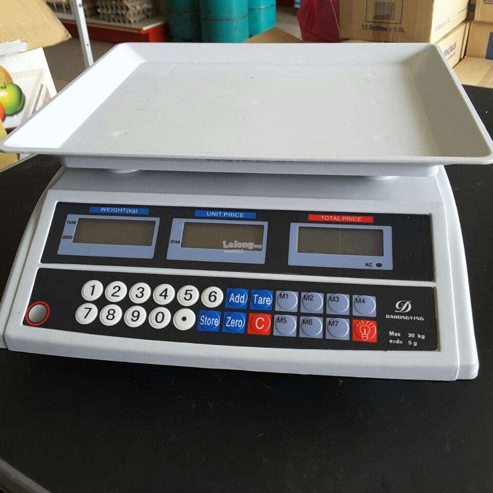 Digital Weighting Scale / Timbang Digital 30kg