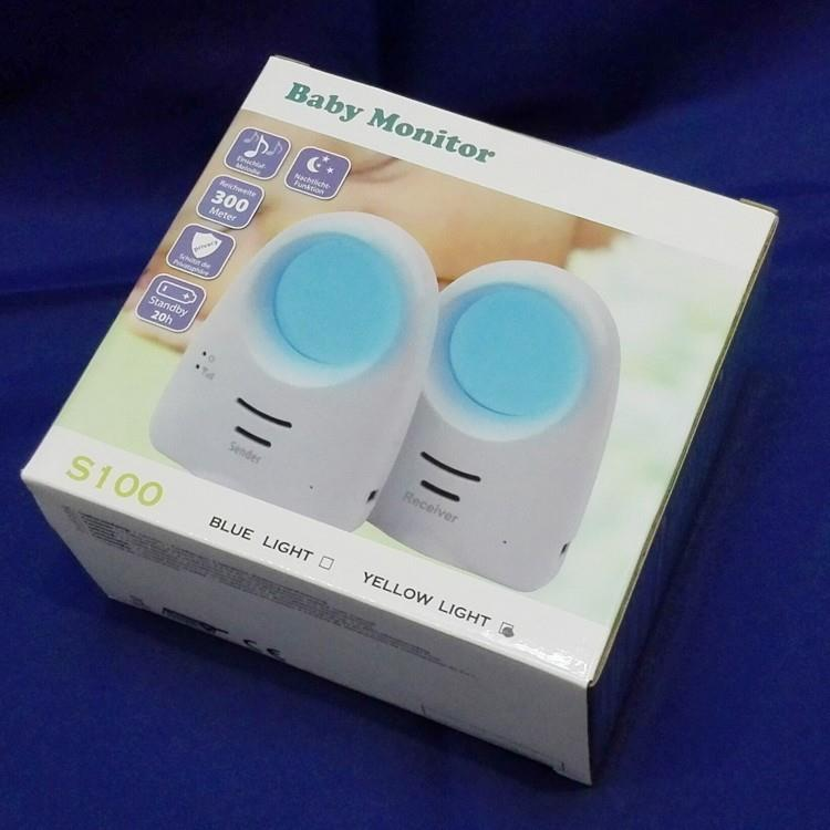 Digital Wireless Voice Control Baby Monitor 300M S100 Voice Control