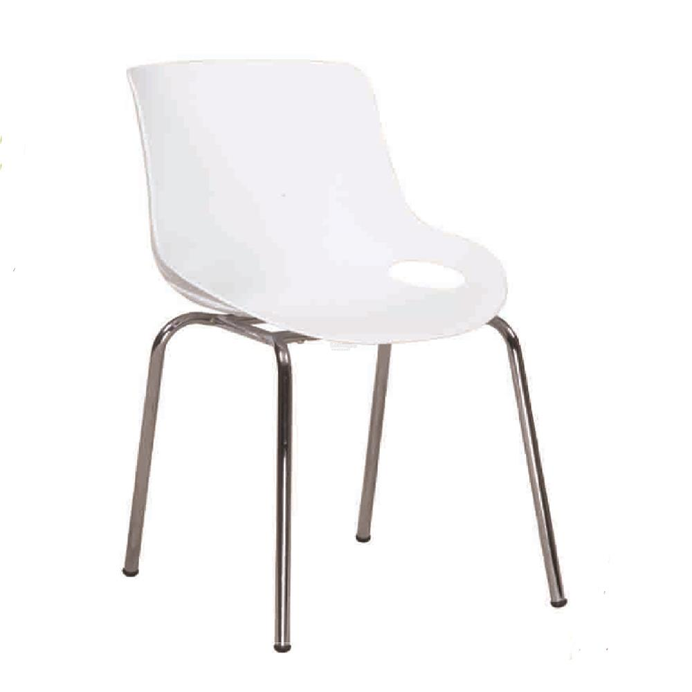 DINING CHAIR DC 9130 WHITE