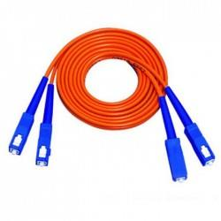 DINTEK FIBER OPTIC SC-SC DUPLEX PATCH CORD 5 METER CABLE