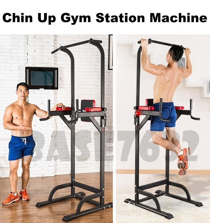 Dip  Chin Up ABS Muscle Gym Fitness Exercise Station Machine Equipment