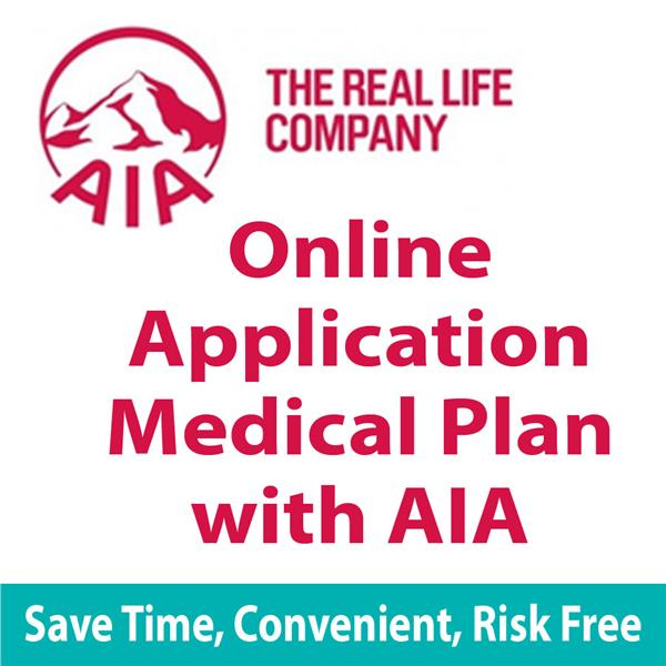 Direct Online Application Medical Plan with AIA Company