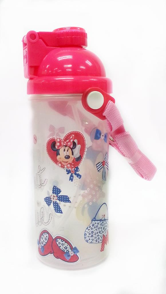 DISNEY MINNIE MOUSE 650ML WATER BOTTLE * BPA FREE (Genuine licensed)