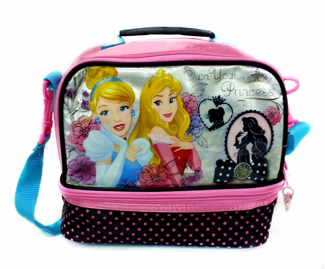 DISNEY PRINCESS CINDERELLA AND AURORA LUNCH BAG * W23xH21xD13(CM)