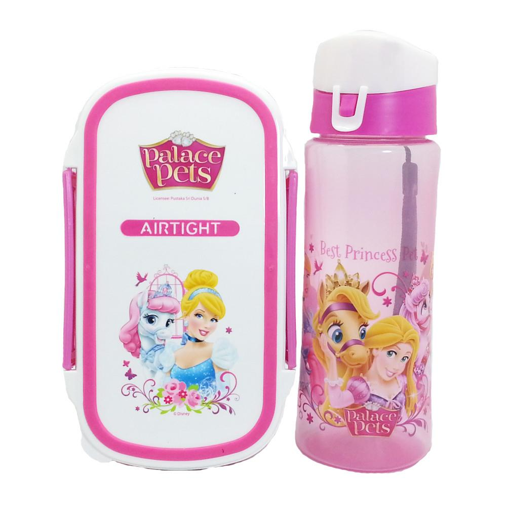 DISNEY PRINCESS PALACE PETS LUNCH BOX SET * BPA FREE