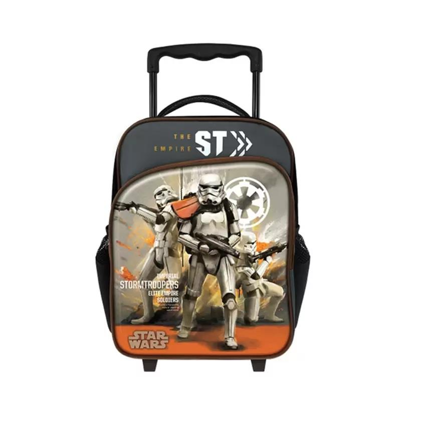 Disney Star Wars Rogue One Pre School Trolley Bag - Stromtroopers
