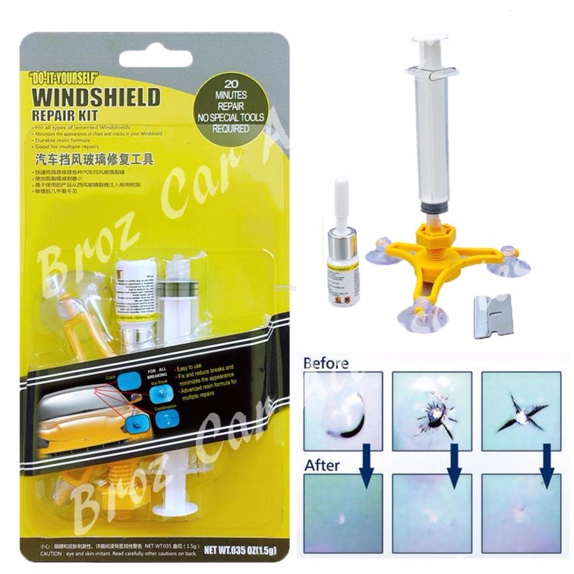 DIY Car Automobile Windshield Repair Kit tools Auto Glass Windscreen R