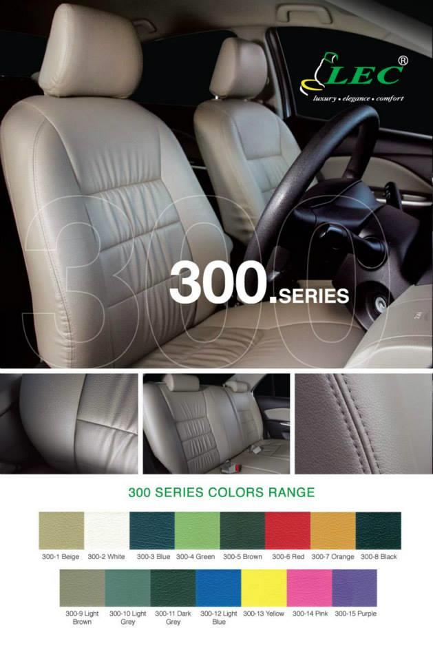 DIY PVC/PU LEATHER Car Seat Cover/Cushion for Proton Juara 1.1 (2001)