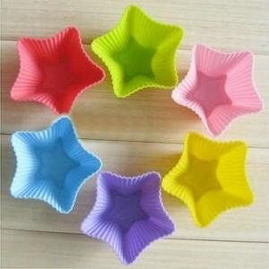 DIY Silicone Bake Cake Mold-Star (6 pcs)