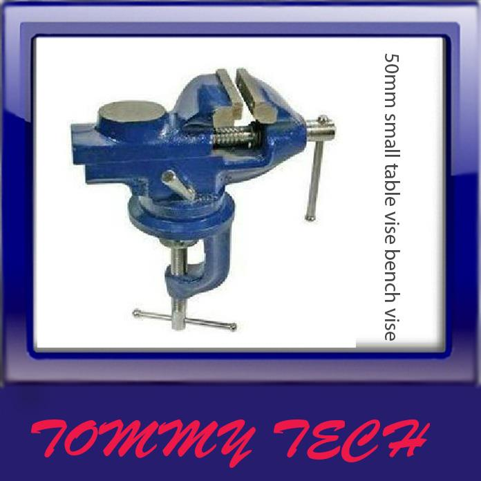 DIY Tools - 50mm small table vise bench vise mini / micro forceps 360