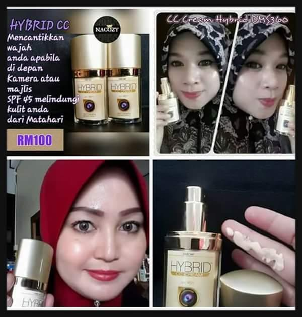 DMS 360 DMS360 DERMAX SUPERSKIN HYBRID CC FOUNDATION CREAM 30ML ORI