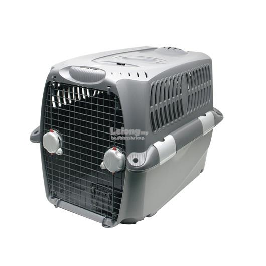Dogit Design Cargo Dog Carrier - Gray - Large - 90 cm L x 65 cm W x 65