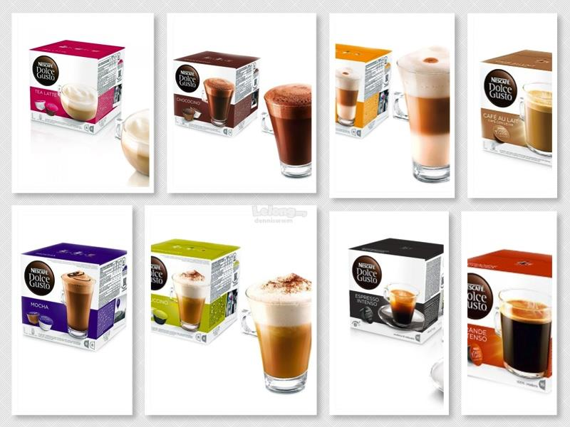 Dolce Gusto Capsules Mix and Match! (Free Shipping Fees)