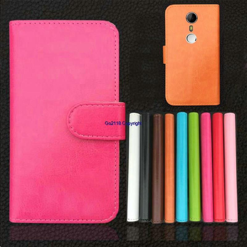 DOOGEE F7 Pro PU Leather Magnetic Flip Case Cover Casing