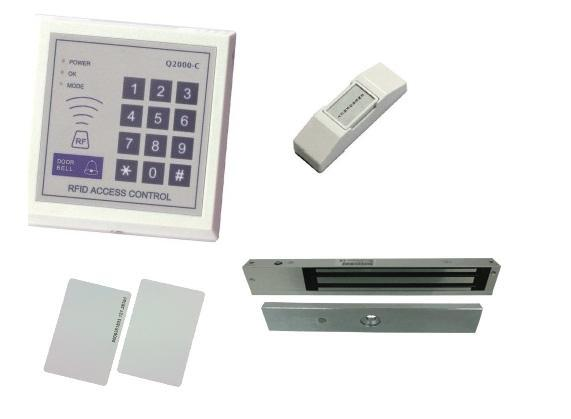 DOOR ACCESS CARD SYSTEM WITH RFID SPECIAL + 6 YEARS WARRANTY