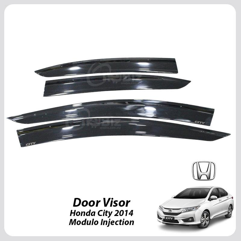 Door Visor Honda City 2014 - Modulo Injection - HT-DV-HD05