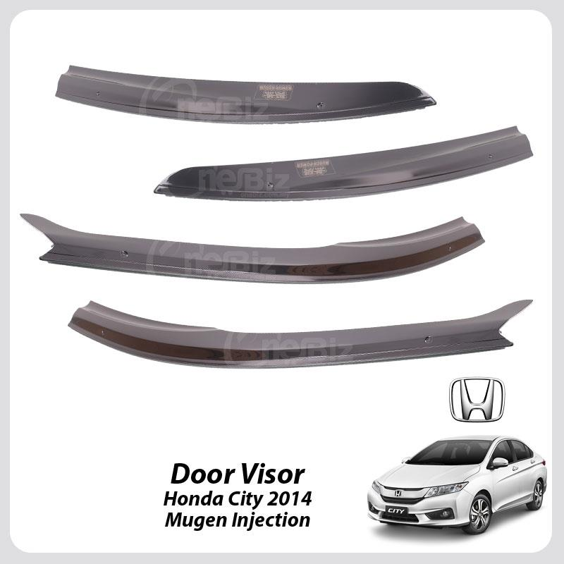 Door Visor Honda City 2014 - Mugen Injection - HT-DV-HD11