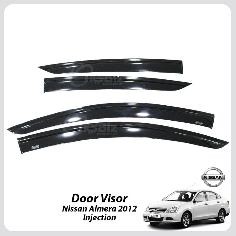 Door Visor Nissan Almera 2012 - Injection - HT-DV-NS01