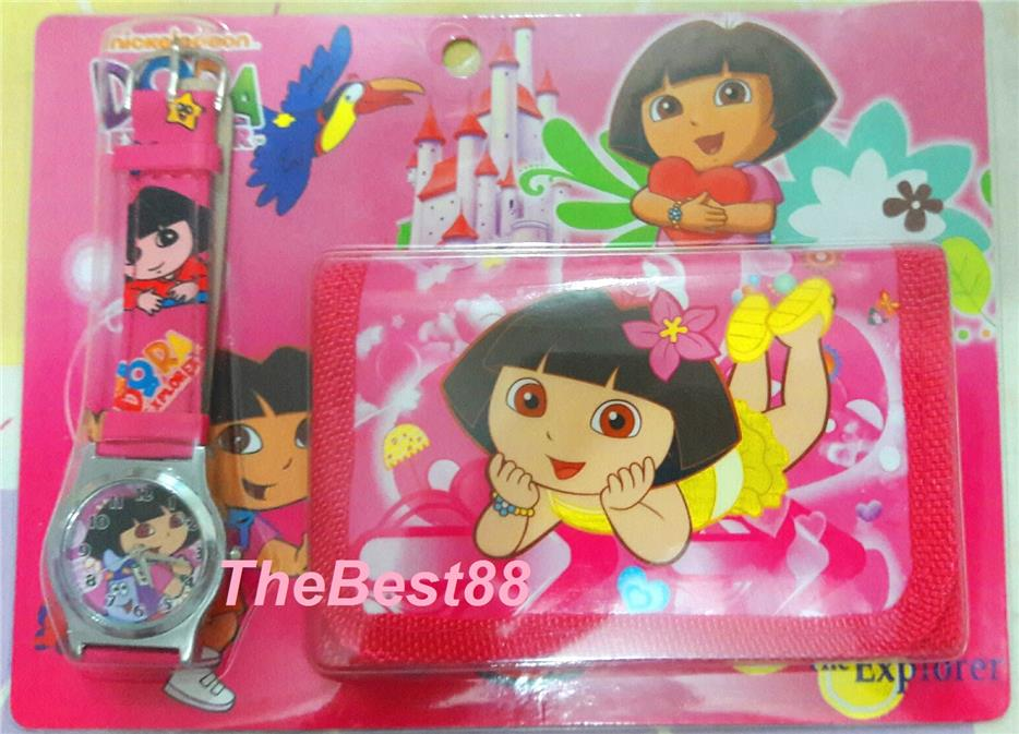 DORA Kids Ladies Watch and Wallet Set Lovely Gift WW881DO02