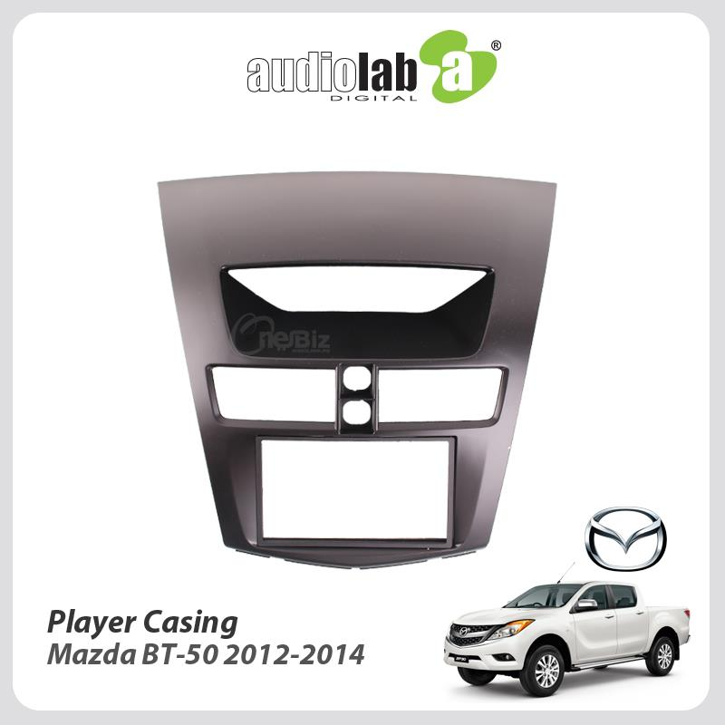 Double Din Car DVD Player Casing For Mazda BT-50 2012-2014