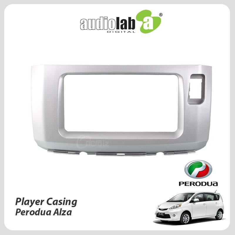 Double Din Car DVD Player Casing For Perodua Alza