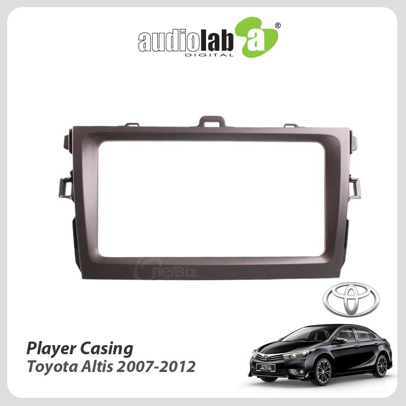 Double Din Car DVD Player Casing For Toyota Altis 2007-2012