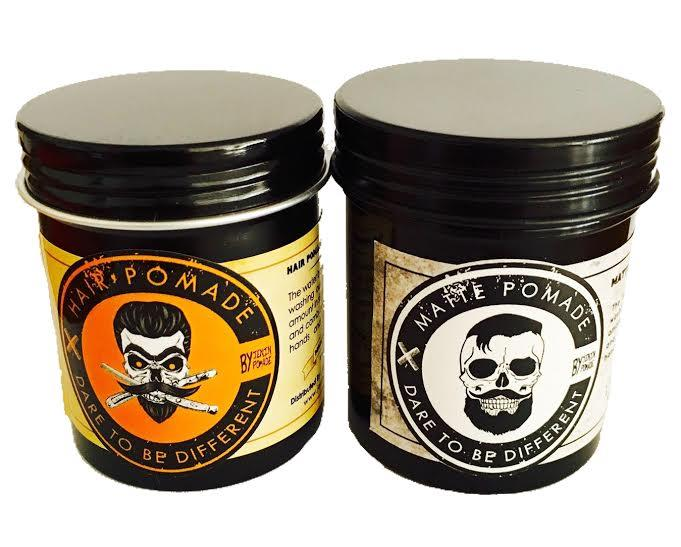 Double Package Hair Pomade by Jenin + Matte Pomade by Jenin