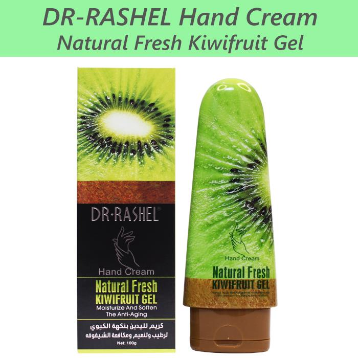 Dr-Rashel Hand Cream Natural Fresh Kiwifruit Gel