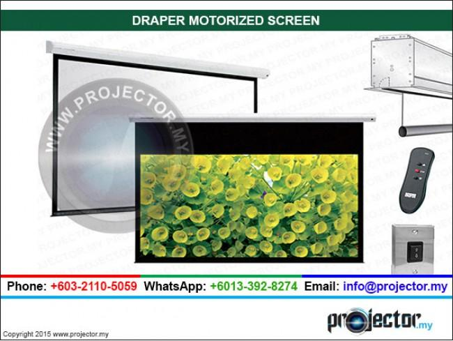 DRAPER MOTORIZED SCREEN 15' x 20'