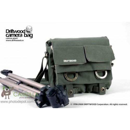 Driftwood 7621 Camera Camcorder Shoulder Bag 【Army Green&#12305..