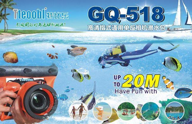 DSLR Waterproof Underwater CAMERA dive packages black colour