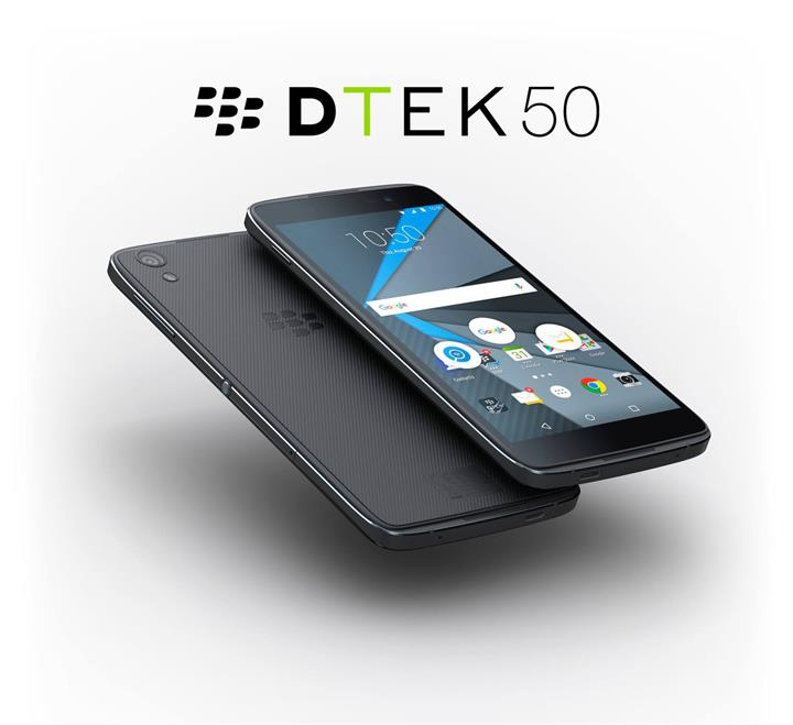 DTEK 50 / BLACKBERRY ANDROID PHONE / BLACK / NEW / ORIGINAL MY SET