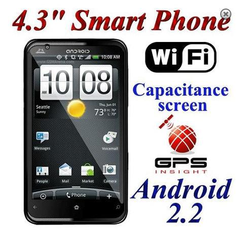 Dual SIM Cards Android 4.3' Capacitive Touch Screen Mobile Phone !