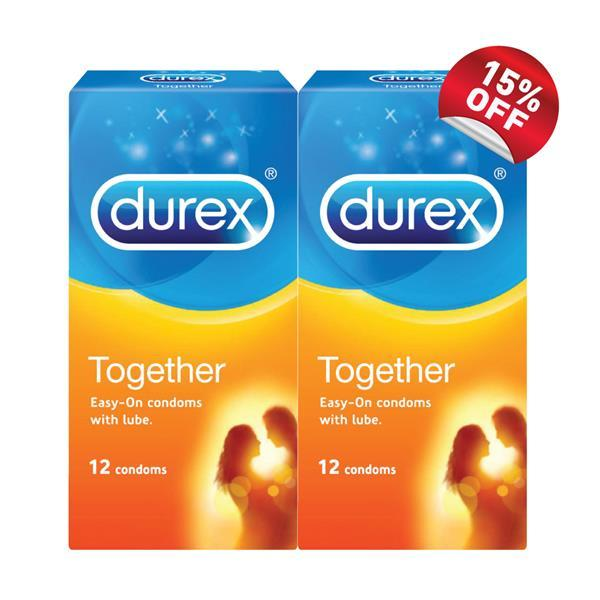 Durex Together 12s Condom X 2