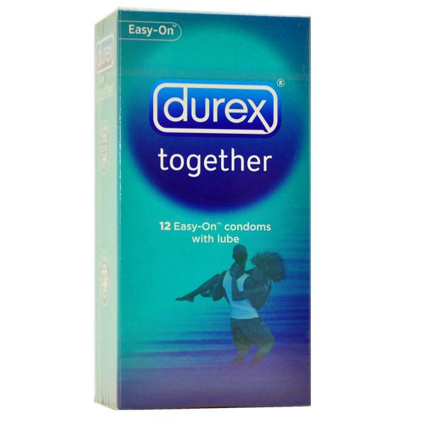 Durex Together Easy-On Condom (Kondom) 12's