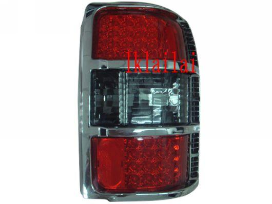 Eagle Eye Mitsubishi Pajero V33 `92-96 Tail Lamp Crystal LED Red/Smoke