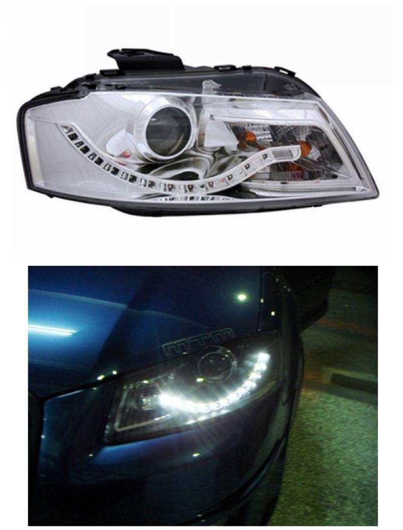 EAGLE EYES AUDI A3 '03-08 LED Daylight Projector Head Lamp