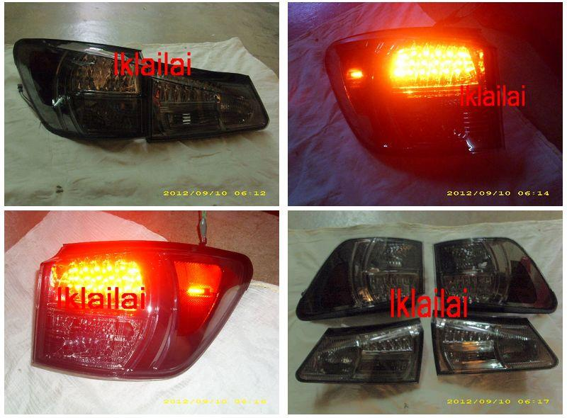 EAGLE EYES LEXUS IS250/IS350 '06-08 LED Tail Lamp [Smoke]