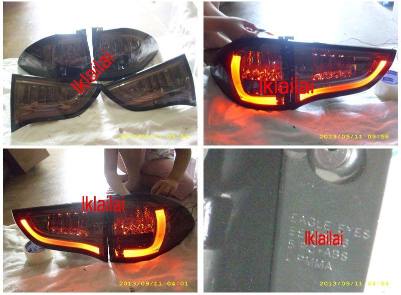 EAGLE EYES MITSUBISHI PAJERO SPORT 09-12' LED TAIL LAMP Full Smoke