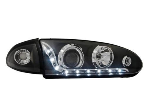 EAGLE EYES Proton WIRA LED DRL R8 Projector Head Lamp [HL-059-4]