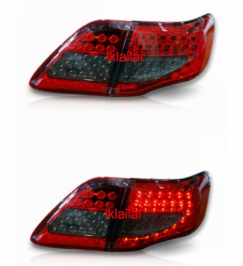 EAGLE EYES Toyota Altis '08-11 LED Tail Lamp Red-Smoke
