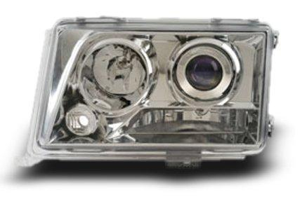 EAGLE EYES W124 '94-96 CHROME Projector Head Lamp HL-002-Benz