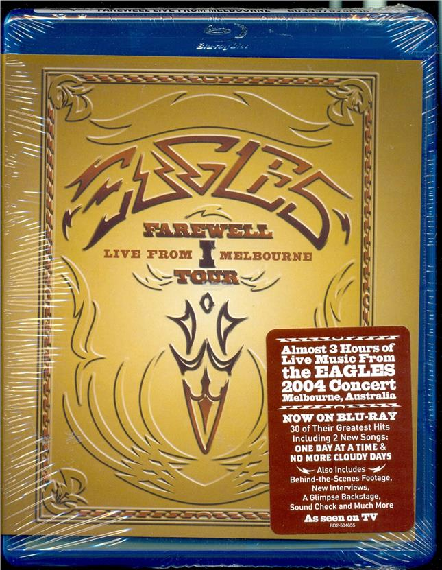 Eagles - Farewell - New Blu-Ray