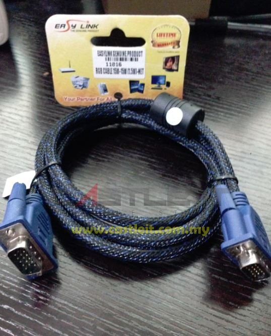 Easy Link Cable VGA CABLE 1.5meter (11016)