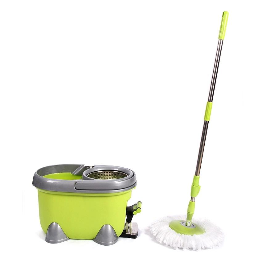 Easy Mop G6 with Stainless Steel Bucket Soap Dispenser