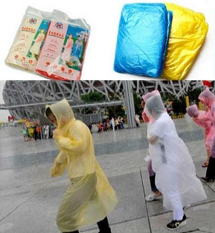 Economical Disposable Rain Coat