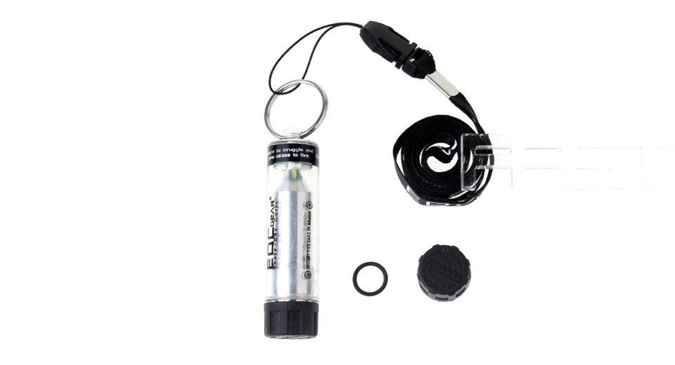 EDCGEAR Outdoor Survival 3-Mode 130-Lumen Pure White LED Light